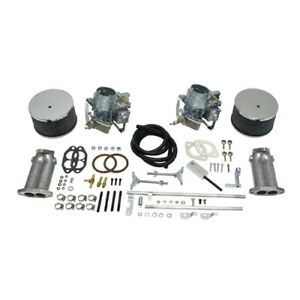 Dual 40k 40mm Dual Carb Kit For Type 1 Beetle Twist Linkage Dunebuggy