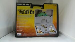New Chicago Electric Oxygen And Acetylene Welding Torch And Welder Kit