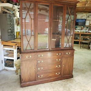 Henkel Harris Mahogany China Cabinet