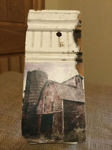Vintage Salvage Architectural Molding W Farmhouse Barn Photo Country Decor