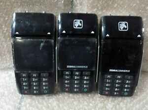 Pax D210 Wireless Credit Card Terminal Lot Of 3 bx32