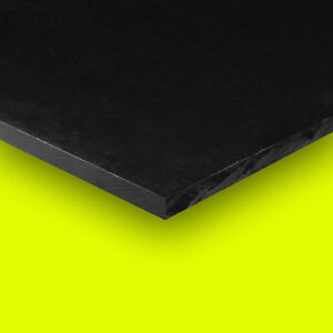 Delrin Acetal Plastic Sheet 2 X 12 X 24 Black Color Free Shipping