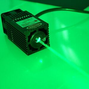 Industrial 532nm 300mw Green Laser Module W tec Cooling analogue Modulation