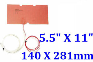 5 5 X 11 140 X 281mm 24v 130w Makerbot Replicator 2x Build Bed Plate Ce Heater