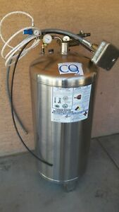 Carbo Charger Co2 Liquid Holding Tank Soda beer Systems Carbonates Beverages