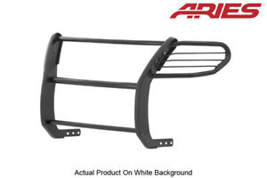 11 14 Ford Explorer Black Semi Gloss Front Grille Brush Guard 1 Piece Aries