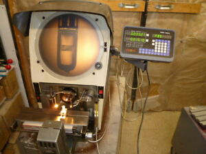 Gagemaster 29 14 Inch Optical Comparator With Kexin Dro