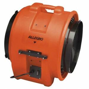 Allegro Axial Confined Space Blower 1 Hp 115vac Voltage 3450 Rpm Blower fan