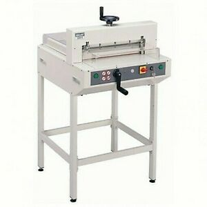 Kw trio 3951 Electric Paper Guillotine Trimmer Cutter 450 Sheet Brand New