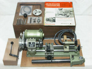 Emco Unimat Model Db200 Mini Lathe With Accessories