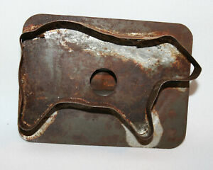 Nice Early Tin Sheep Cookie Cutter C1900 Smithy Made Handle Applied Later