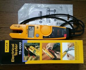Fluke T5 1000 Voltage Continuity Current Digital Electrical Tester meter New