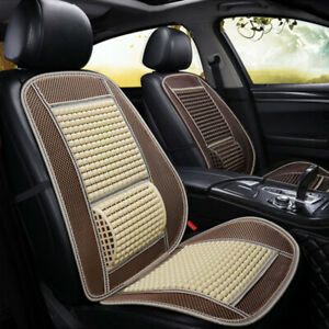 Front Car Seat Covers Universal Breathable Auto Massage Cushion Summer Cool New