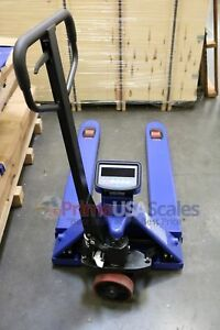 5 Year Warranty Pallet Jack Scale With Built in Printer 6 600 X 1 Lb Capacity