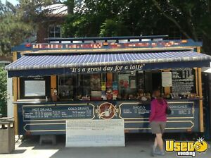 8 5 X 18 Turnkey Coffee Trolley Concession Trailer For Sale In New Hampshire