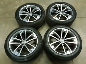 Genuine Audi Allroad Wheels Oem Slightly Used 8w9601025c W tires Machined Finish