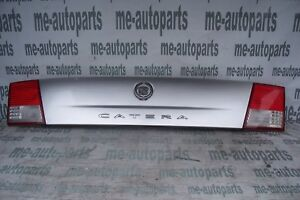 2000 2001 Cadillac Catera Factory Trunk Finish Panel Lid Assembly Chrome Emblem