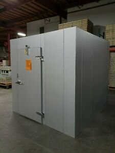 New 10 X 12 X 8 Commercial Cooling Walk in Freezer W Remote Refrigeration