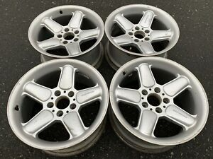 Rare 17 Genuine Ac Schnitzer Type 2 Rims Made In Germany Good Used Condition