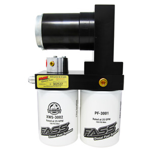 Fass Signature Series Diesel Fuel Pump 165gph For Ford Powerstroke 6 7l 2011 16