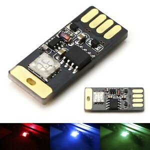 Touch Control Rgb Multicolor Plug In Miniature Led Interior Ambient Lighting Kit