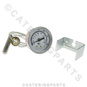 Tm009 Nsf Temperature Dial Display Thermometer 52mm Hole Clamp Mounting 0 125 c