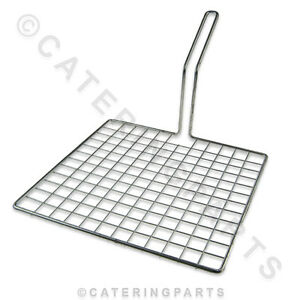 Lincat Ba41 Doughnut Fryer Dc04 Donut Basket Flat Mesh Scoop For Shallow Fryer