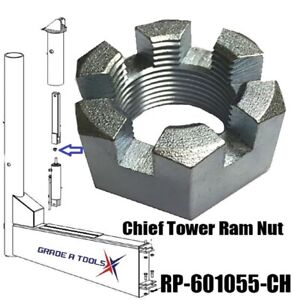 Chief Tower Ram Nut S21m Frame Machine Hydraulic Ram Rp 601055 Ch