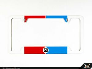 N America License Plate Frame Brumos Racing Livery Porsche 911 934 935 59 Front