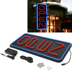 Bright 23 6 x11 8 Vertical Neon Sign 30w Led Light Window Bar Game Rooms Us