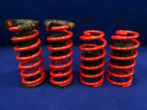 94 04 Ford Mustang Red Coil Spring Lowering Springs Good Used Take Offs 5