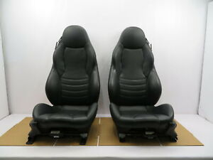 98 02 Bmw Z3 M Roadster E36 1079 Black Power Leather Heated Sport Seats