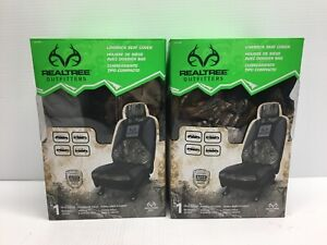 Signature Products Realtree Low Back Seat Cover Realtree Xtra Lot Of 2