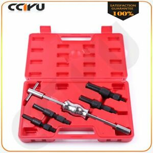 New 5 Pc Inner Bearing Puller Set Kit Remover Blind Internal Slide Hammer