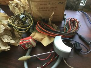 1949 1950 Ford Nos Turn Signal Switch Wiring Lever Harness Kit F 1 c Griffin
