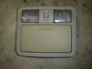 05 06 07 Nissan Pathfinder Roof Overhead Dome Map Light Console Gray Oem