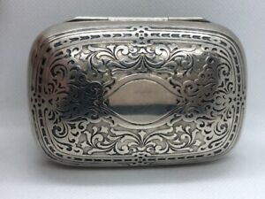 Tiffany Co Vintage Sterling Silver Travel Soap Dish Ud9001661