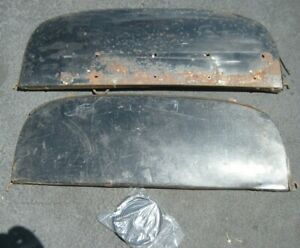 1951 1952 Chevrolet Fender Skirts Original Pair With New Seals