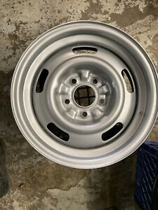 1967 Chevy Corvette Rally Wheels Dc Code 15x6 Ralley Rims Ncrs 67 1