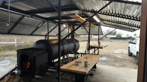 2017 16 Bbq Smoker Pit Concession Trailer For Sale In Texas