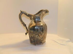 Antique Historical Jacob Van Valkenburgh Family Large Coin Silver Pitcher 1746