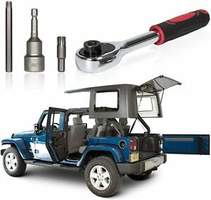 Hard Top And Door Removal Torx Set Tool Kit Replace For Jeep Wrangler 2007 2019