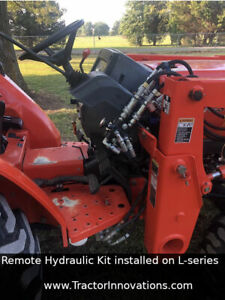 Remote Hydraulic Kit Kubota B L M Series Tractors Simple 15 Min Install
