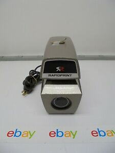 Rapidprint Ar e Time Clock Date Stamp W key 2022 Date Tested working