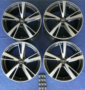 2018 Audi Bbs Rs3 19 Factory Oem Blade Design Staggered Wheels