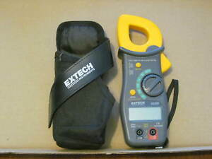 Extech 38389 True Ac dc Clamp Meter