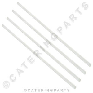 4 X Hobart 112378 23 White Nylon Door Slides For Uw100 Am12e Am12ec Dishwasher