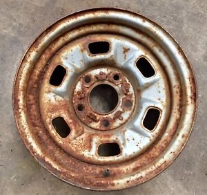 Chevy 14x7 Rally Wheel 2nd Design Camaro Nova Chevelle Elcamino Single J15735