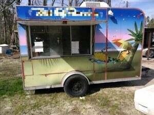 Used 2012 Shaved Ice Snowball Or Food Concession Trailer For Sale In Florida