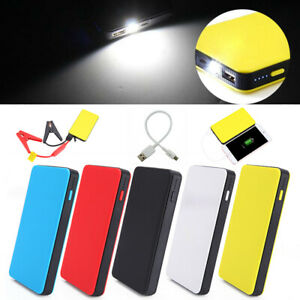 20000mah 12v Car Jump Starter Portable Battery Charger Booster Led Power Bank 1